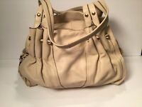 15ea8abebca B Makowsky Ivory Leather Shoulder Bag