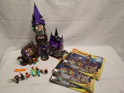 LEGO 75904 Scooby-Doo Mystery Mansion COMPLETE with manuals figures Retired!