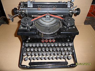 Rarität alte Antike Schreibmaschine  Torpedo 6  Torpedo6