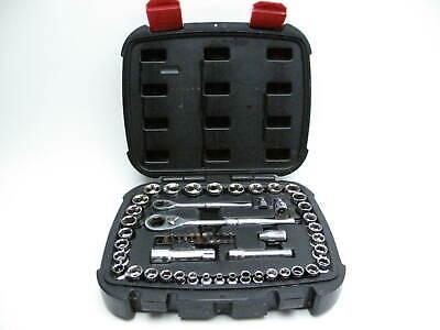 """Husky 1002 342 752 55 Piece 1/4"""" And 3/8"""" Pass Through Mechanics Tool Kit"""