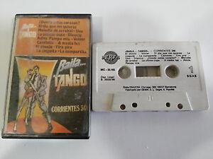 BAILA-TANGO-CORRIENTES-348-CASSETTE-TAPE-CINTA-PERFIL-1989