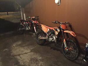 2007 Ktm 150 sx price is firm don't offer me lower