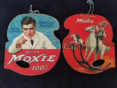 Vintage Moxie Advertising Hand Fan 1922 Promo Soda Pop  Americas Favorite