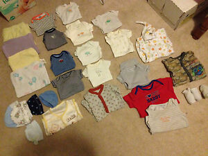 Newborn baby boy lot