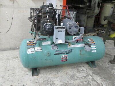 Speedaire Model 1wd65 230v 3ph 23.5 Cfm175 Psi 7.5hp Piston Pump Air Compressor