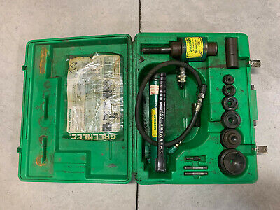 Greenlee 7306 12-2 Hydraulic Knockout Punch Driver Set