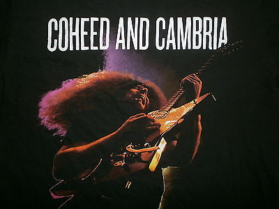 COHEED & CAMBRIA CLAUDIO SANCHEZ T SHIRT Playing Explorer Guitar With Bigsby -