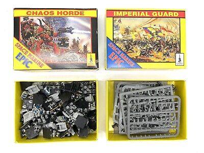 Lot of 100+ Games Workshop Citadel Miniatures Plastic Chaos Horde Imperial Guard