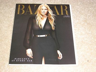 LARA STONE * FABULOUS AT EVERY AGE April 2014 HARPER'S BAZAAR MAGAZINE