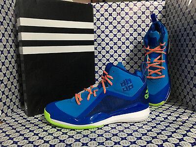 Grün Herren-basketball - (adidas Schuhe Herren-basketball - d Howard 5 erteilt - blau grün - D73948)