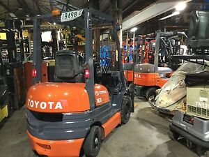 Cheap diesel Toyota 1.8 ton 4mt side shift solid tyres Lidcombe Auburn Area Preview