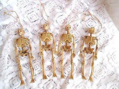 Halloween Skeleton Ornaments Skulls Hanging Party Decorations Spooky Bones](Spooky Halloween Party Decorations)
