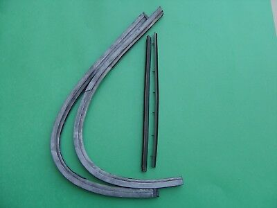 1953-1954 CHEVROLET BEL AIR 210 150 SEDAN & WAGON VENT WINDOW SEALS-NEW-USA MADE