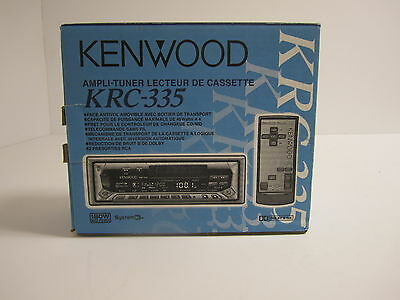 Kenwood KRC-335 Cassette Player In Dash Receiver