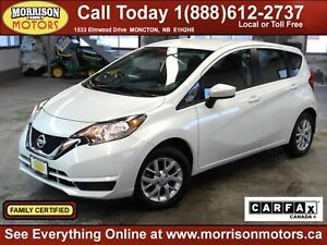 2018 Nissan Versa Note SV  *$125 bi weekly on the road!*