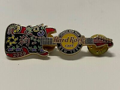 Hard Rock Cafe New York 2006 Chinese New Year Pin