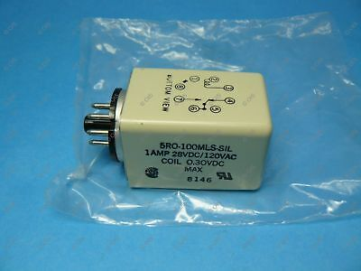 Sigma 5ro-100mls-sil Dc Sensitive Relay 8 Pin Octal 0.30 Vdc Coil 1 Amp