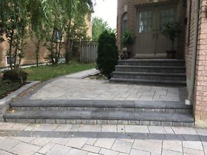 INTERLOCK CUSTOM WORK DRIVEWAY, PATIO, STEPS, RETAINING WALL