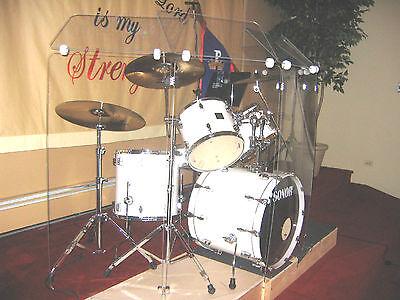 Drum Shields / Drum Shield / Drum Screen  6 ft.  x 12