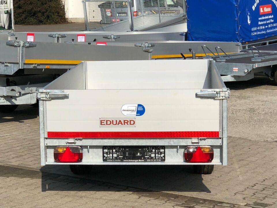 ⭐️ Eduard Anhänger Pritsche 1500 kg 256x150x40 cm Alu NEU 63 in Schöneiche bei Berlin