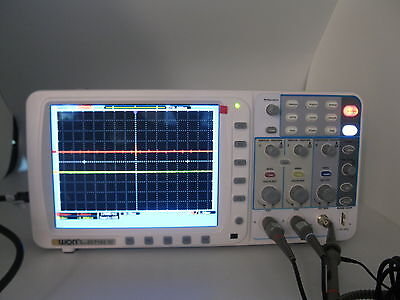 Newest Owon 100mhz Oscilloscope Sds7102v Fft 1gs Vga Free Firmware Upgrade Usa
