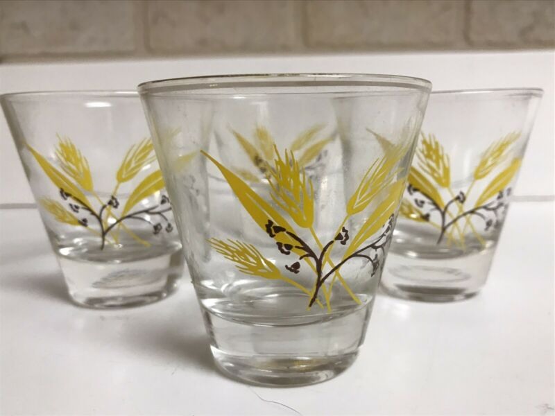Century Service Autumn Gold Glass Tumblers