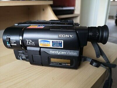 SONY CCD-TRV27E Video Camcorder 8mmXR Charger Battery NIGHTSHOT Original Box