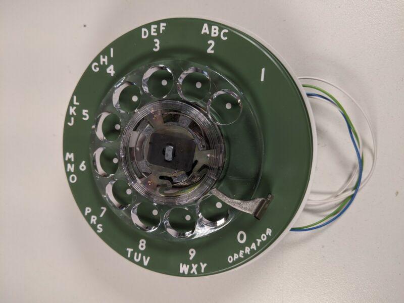 Vintage NOS Stromberg Carlson Rotary Dial Telephone GREEN