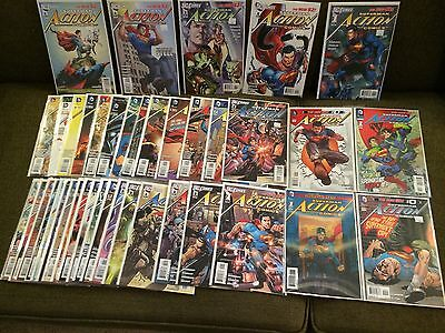 Action Comics 1 - 18 + All Variants New 52 Near Mint Condition Or Better