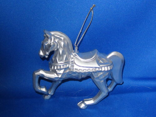 Christmas Horse Ornament SILVER HORSE      FREE SHIPPING
