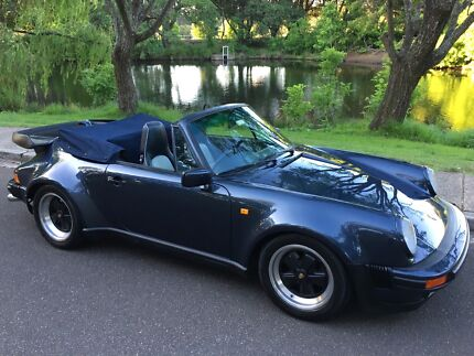 1988 Porsche 911 Carrera widebody Cabrio