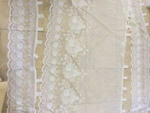 4 Lace Curtains