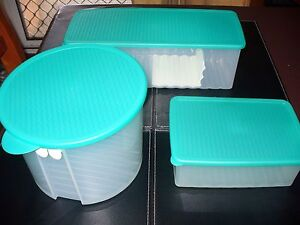 TUPPERWARE CONTAINER X 3 LOT $50 Coombabah Gold Coast North Preview