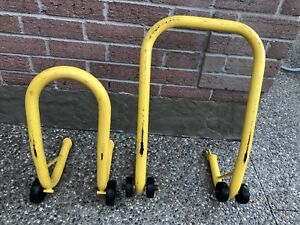 Motorcycle Stands - Front and Rear