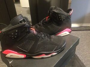 Black Infrared 6s Size 11