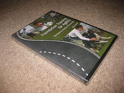 Foundation Training For Agility Dog Training - Moe Strenfel 3 Disc DVD Set NEW