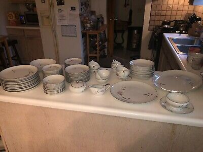 95 PC MIKASA FINE CHINA DINNERWARE SET
