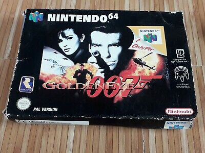 Goldeneye N64 Game Collectors Condition PAL Complete