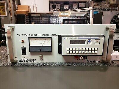 California Instruments 501tca W 849ta Variable Ac Power Source