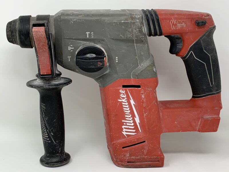 "Milwaukee 2712-20 M18 FUEL 18V Li-Ion 1"" SDS-Plus Rotary Hammer (Tool Only)"