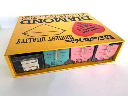 Vintage Electro-Voice Diamond Needles Record Player Stereo Vendor Display CASE