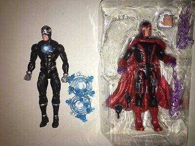 """Marvel Legends 6"""" X-Men Magneto + Havok - Lot Of 2 Loose"""
