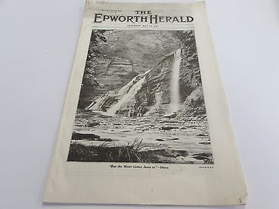 ANTIQUE - THE EPWORTH HERALD - THE METHODIST BOOK CONCERN  - MAY 31ST 1919