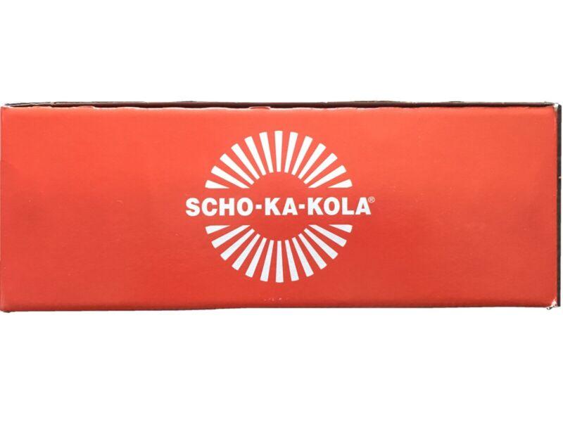 10 x SCHO-KA-KOLA CAFFEINE DARK CHOCOLATE 10 x 100 g -USA SHIPPING