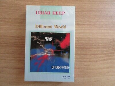 Uriah Heep - Different World 1991 Korea Cassette Tape No Barcode SEALED NEW RARE