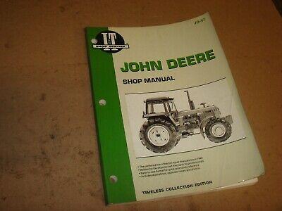 John Deere Models 40504250445046504850 Tractors Shop Repair Manual Jd-57