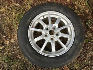Rim and tyre 215/60/16 Rivervale Belmont Area Preview