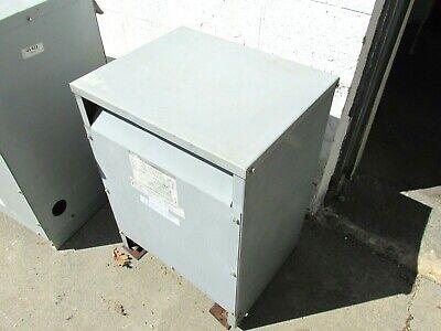 Square D Sorgel 3 Phase Transformer 15 Kva 600240v Cat 15t10h .. Od-480