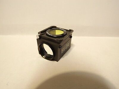 Nikon Bv-1a Fluorescence Filter Cube Optiphot Labophot Diaphot Dm455 Ba420 Blue