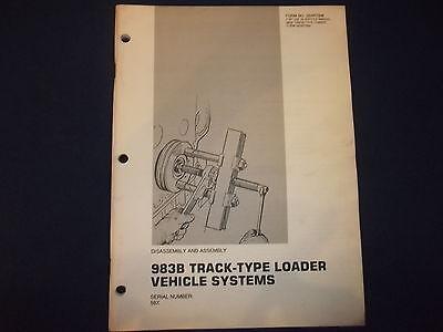 Cat Caterpillar 983b Track Loader Machine Disassembly Book Manual Senr7696